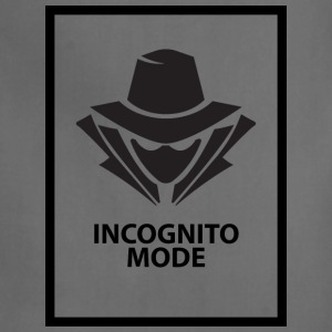 Incognito Mode (Black) - Adjustable Apron