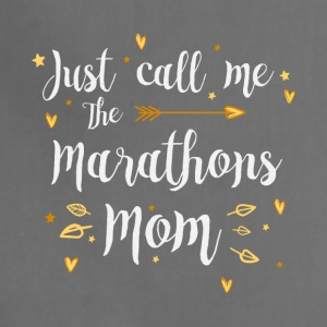 Just Call Me The Sports Marathons Mom funny gift - Adjustable Apron