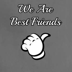 we are best friends - Adjustable Apron