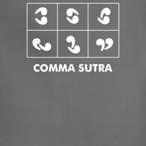 Comma Sutra - Adjustable Apron