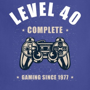 Level 40 Complete - 40th Birthday Gift for Gamers - Adjustable Apron
