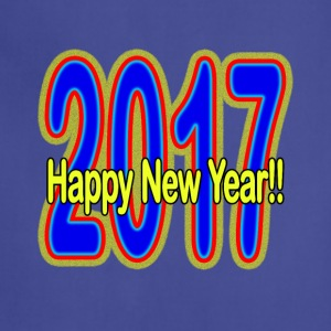 Happy_New_Year - Adjustable Apron