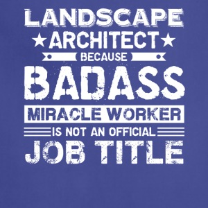 Landscape Architect Shirt - Adjustable Apron