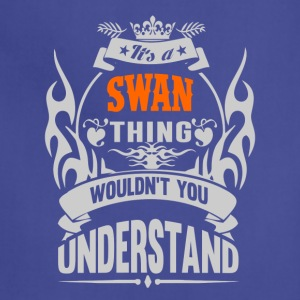 IT'S A SWAN THING TSHIRT - Adjustable Apron