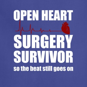 openheart surgery survivor - Adjustable Apron