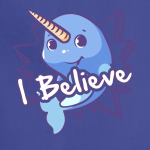 I Believe Narwhal Shirt - Adjustable Apron