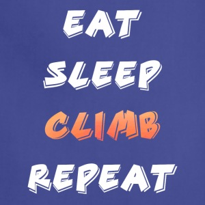 Eat Sleep Climb repeat - Adjustable Apron