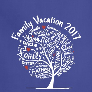 family vacation 2017 - Adjustable Apron