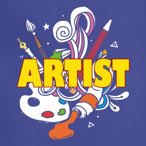 ARTIST TEE SHIRT - Adjustable Apron
