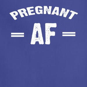 Pregnant AF T-shirt - Adjustable Apron