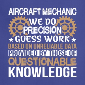 Aircraft Mechanic T Shirt - Adjustable Apron