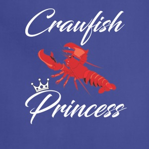 Crawfish Princess T-Shirt - Adjustable Apron