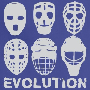 hockey goalie mask evolution - Adjustable Apron
