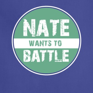 NateWantsToBattle - Adjustable Apron