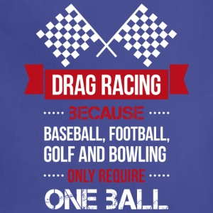 Drag racing t shirt - Adjustable Apron