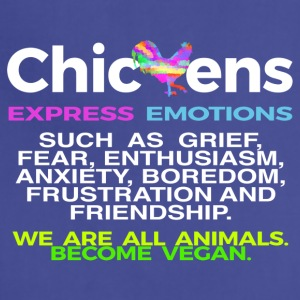 CHICKENS EXPRESS EMOTIONS - Adjustable Apron