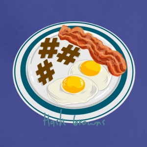 Hashtag Breakfast Plate - Adjustable Apron