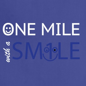 mile with a smile - Adjustable Apron