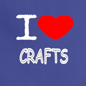 I LOVE CRAFTS - Adjustable Apron