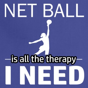 Netball is my therapy - Adjustable Apron