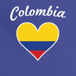 Colombia Flag Heart - Adjustable Apron