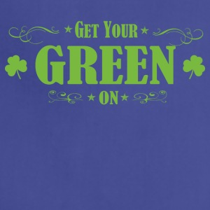Get your green on St. patrick day - Adjustable Apron