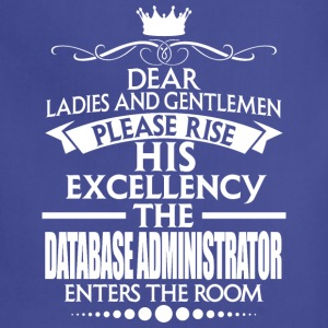 DATABASE ADMINISTRATOR - EXCELLENCY - Adjustable Apron