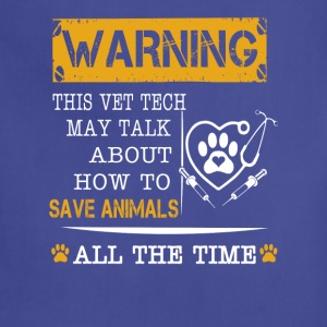 Save animals all the time - Adjustable Apron