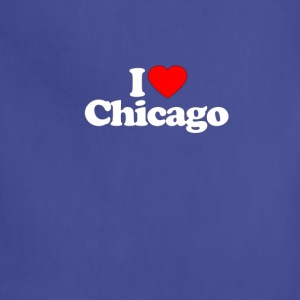I Love Heart CHICAGO Funny T Shirt Premium - Adjustable Apron