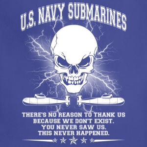 U S NAVY SUBMARINES SHIRT - Adjustable Apron
