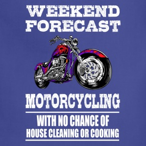 Weekend Forecast Motorcycling Motorcycle - Adjustable Apron