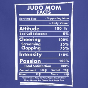 Judo Mom Facts Daily Values May Be Vary - Adjustable Apron