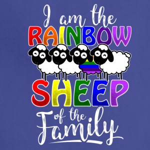 Rainbow Sheep Gay Pride - Adjustable Apron