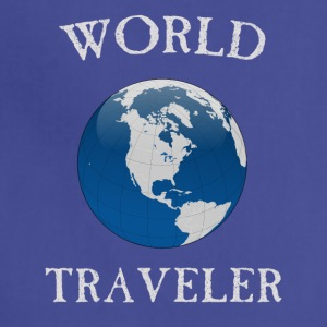 world traveler - Adjustable Apron