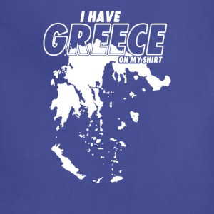 Greece On My Shirt - Adjustable Apron