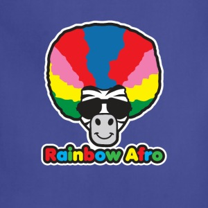 Rainbow Afro - Adjustable Apron