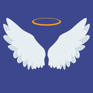 bbb38e69f Angel - Michael - Wings Halo Spiritual Light Apron | Spreadshirt