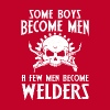 Men become welders - Adjustable Apron