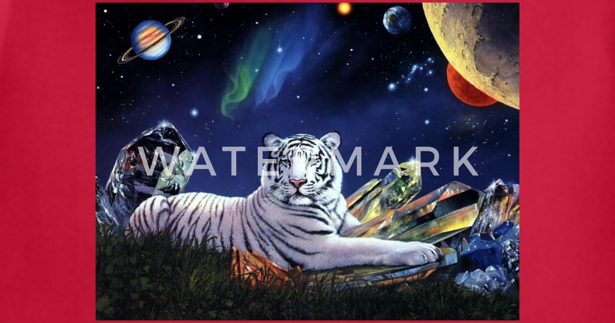 Free 3d Design Art White Tiger Wallpapers Download By Spreadshirt