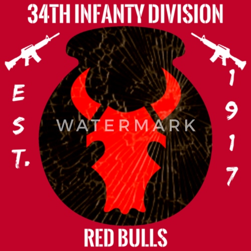 34th ID Red Bulls Infantry Division By Sales NewAddition Spreadshirt