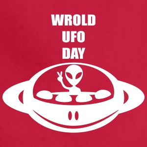 World UFO Day - Adjustable Apron