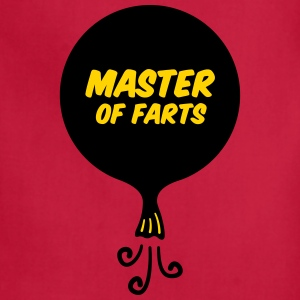 Master of Farts (2 color) - Adjustable Apron