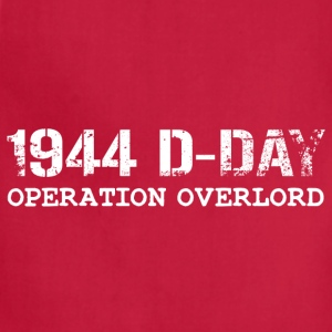 1944 D-Day Operation Overlord (White) - Adjustable Apron