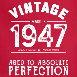 Funny 70th Birthday Gift: Vintage Made in 1947 - Adjustable Apron