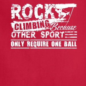 Rock Climbing Tee Shirts - Adjustable Apron