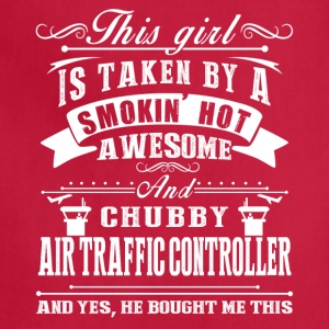 Awesome Air Traffic Controller Shirt - Adjustable Apron