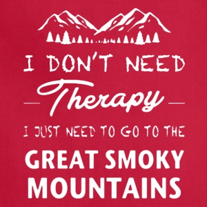 Great Smoky Mountains Shirt - Adjustable Apron