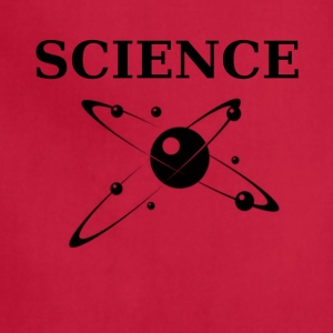 Science Dynamic Atom T-shirt - Adjustable Apron