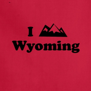 wyoming mountain - Adjustable Apron