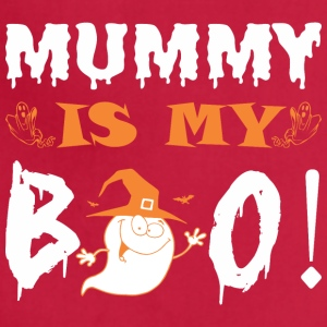 Mummy Is My Boo Happy Halloween - Adjustable Apron